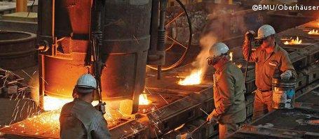 Stromkosten spalten deutsche Industrie