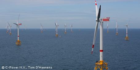 Offshore-Windpark Thornton Bank: Zweite Ausbaustufe in Betrieb genommen