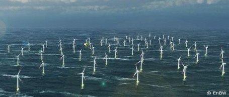 """Offshore-Windpark """"Baltic 2"""": Erste Windkraftanlage steht"""