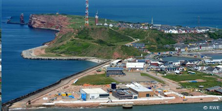 Offshore-Windpark Nordsee Ost: Betriebsstation auf Helgoland fertiggestellt