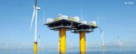 "Bau von Offshore-Windpark ""Amrumbank West"" hat begonnen"