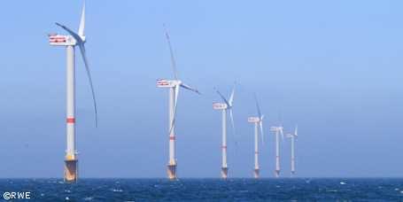 Offshore-Windpark Thornton Bank fertiggestellt