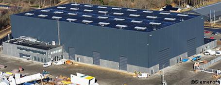 Siemens eröffnet weltgrößte Testzentren für Windturbinen