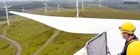 Stromerzeugung aus Windenergie um 23 Prozent gestiegen