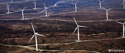 Siemens erhält Onshore-Windkraftaufträge aus Europa und Südafrika