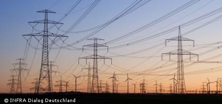 Deutsches Stromnetz ist 1,8 Millionen Kilometer lang
