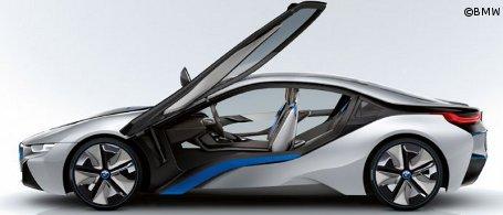 bmw i8 hybrid sportwagen mit 354 ps. Black Bedroom Furniture Sets. Home Design Ideas