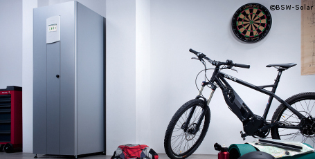 solarstrom speicher werden ab mai gef rdert. Black Bedroom Furniture Sets. Home Design Ideas